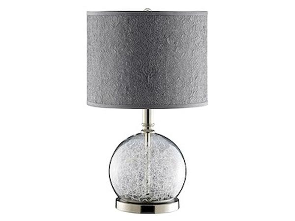 Glass Globe table lamp 1
