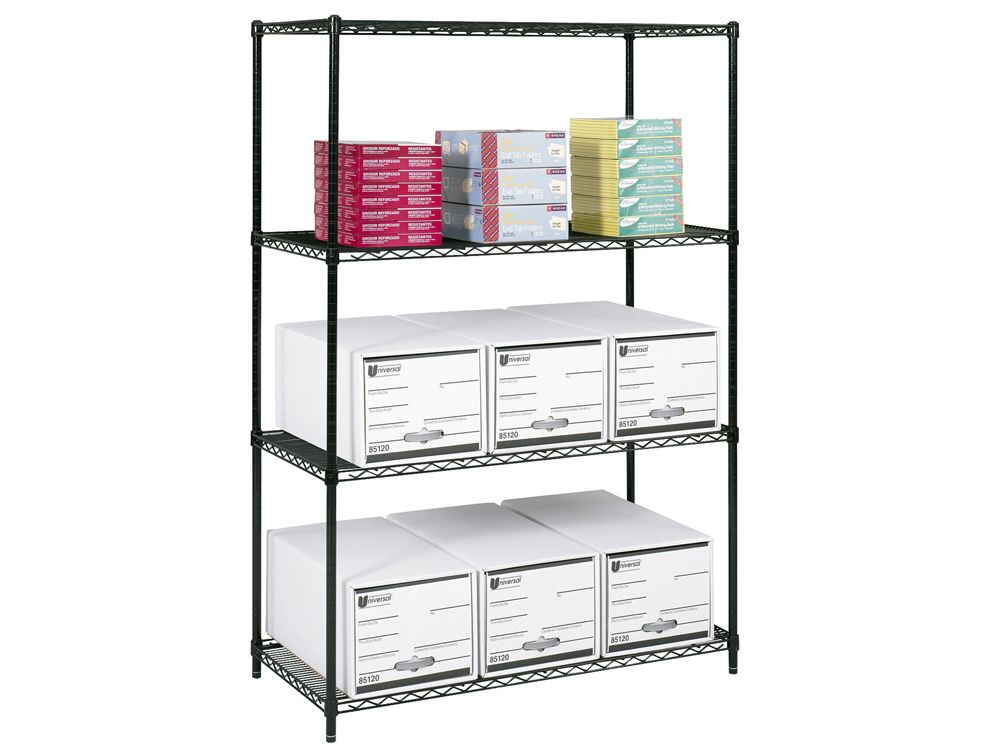 Cort Las Vegas Wire Shelving 4 Shelves Wire Shelving 4