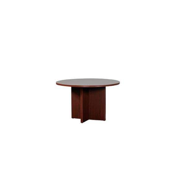 HON 10700 Mahogany 48 Round Conference Table