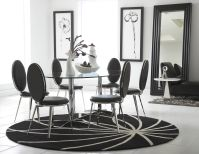 Havana Round Dining Set with 6 Belina Chairs Image 9