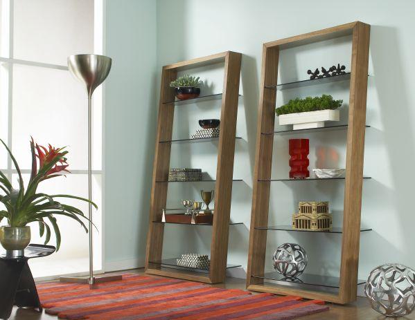Eileen Walnut Shelves