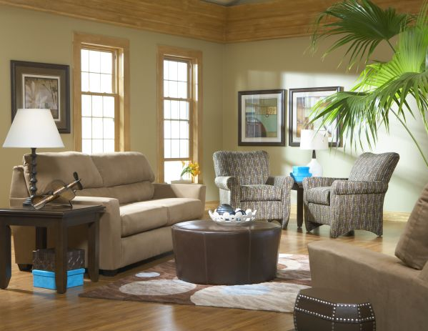 Cort Clearance Furniture | Zane Sofa & Chair