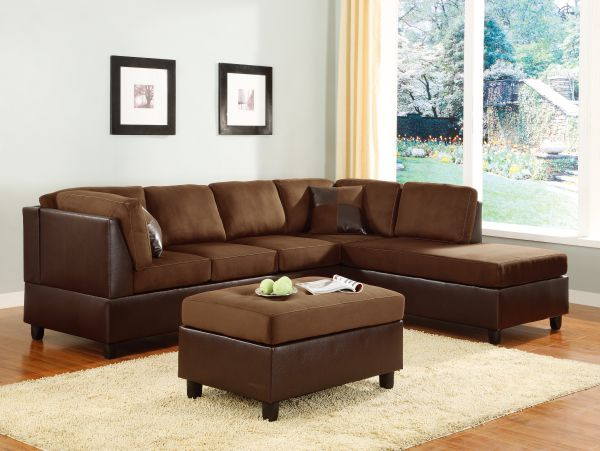 Kallie Microfiber Sectional