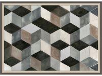 Hexagon Shuffle Wall Art Image 895