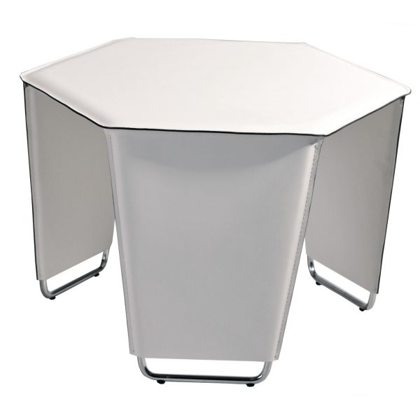 Movado White Cocktail Table