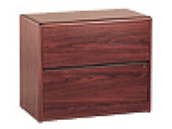HON Mahogany 10700 2 Drawer Lateral File 1