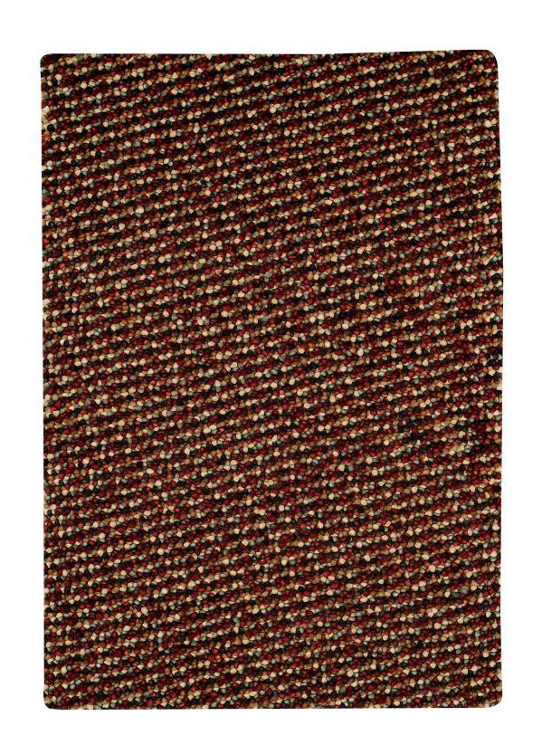 Pebbles Cranberry Area Rug