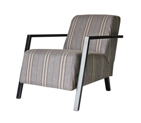 Calla Stripe Accent Chair 1