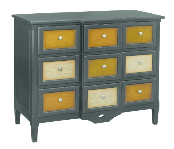 Breakfront 9 Drawer Chest 1