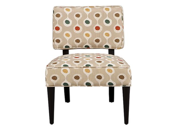 Eli Armless Accent Chair 1