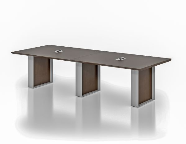 Quorum 10' Conference Table Dark Chocolate