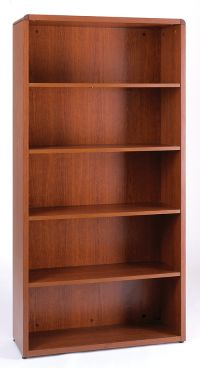 6 Ft C Collection Bookcase Image 15