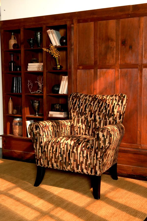Loden Poncho Accent Chair 1
