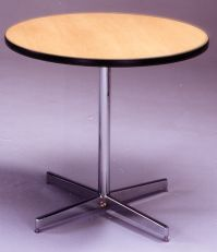 Honey Maple Round Table Image 16