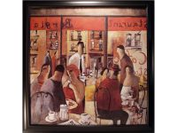 Cafe New York Framed Artwork Image 357
