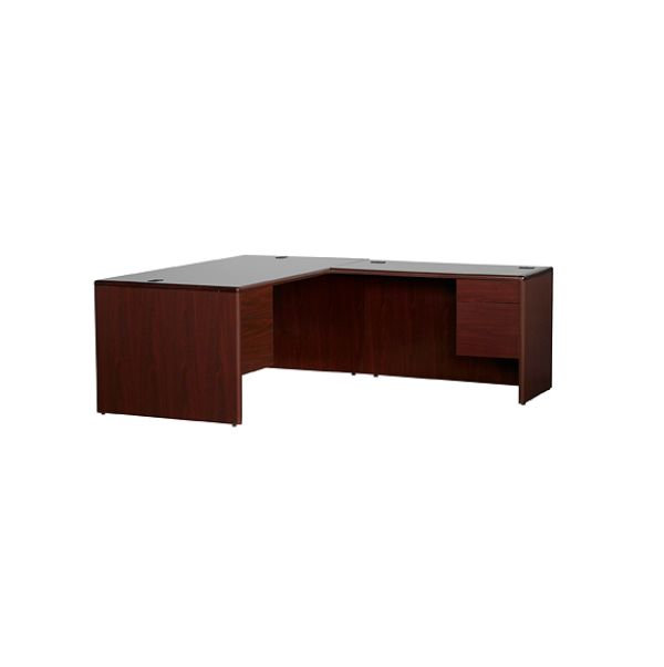 HON 10700 Mahogany Right Hand Executive Desk 1