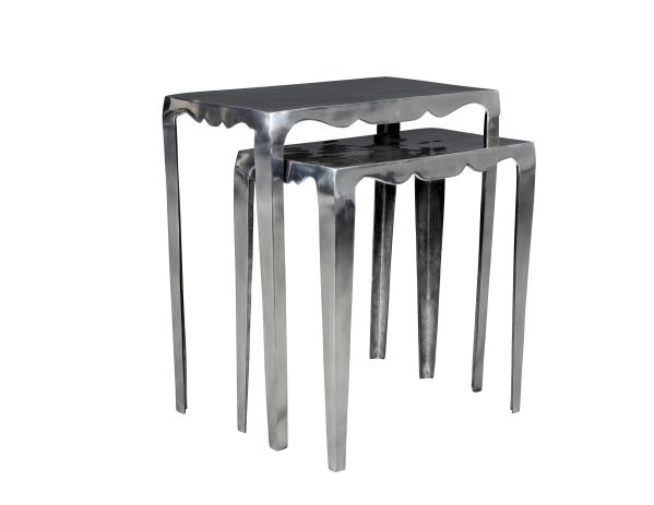 Scallop Nesting Tables